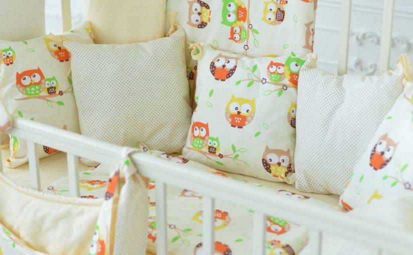 защита бортики для детской кроватки браво фото