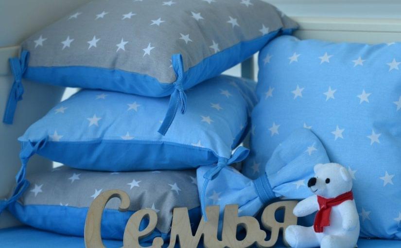 защита бортики для детской кроватки браво 2 фото