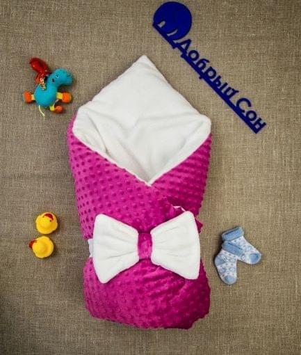 конверт одеяло из плюша и махры фото