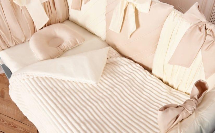 комплект постельного белья в кроватку для новорожденных шарм фото