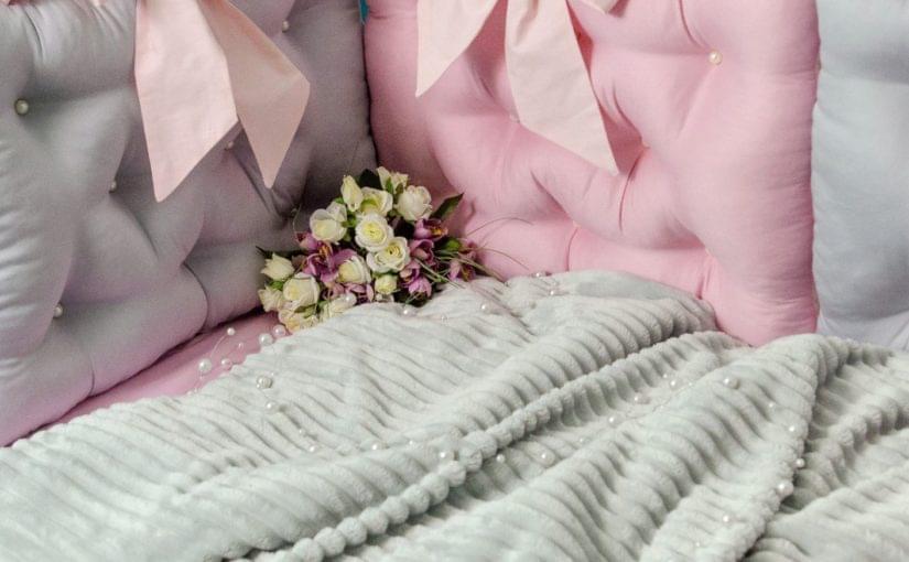 постельное белье в детскую кроватку бусинка фото